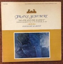 Koeckert Quartet on Heliodor HS25003 – Schubert Death and the Maiden