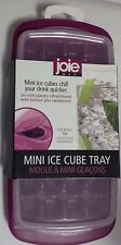 MSC JOIE MINI ICE CUBE TRAY WITH COVER AND FILL TAB ASSORTED COLORS 32 CUBES