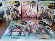 LA QUE SE AVECINA--SERIE COMPLETA EN DVD--TEMPORADAS 1,2,3,4,5,-----25 DVD NUEVO