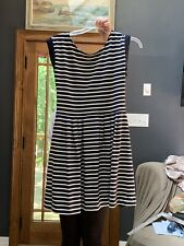 New 100% Cotton Striped Dress Size 10