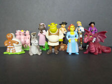 Lot série complète Kinder Joy 10 Figurines Shrek 3 ST France 2007 + 1 BPZ