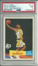 2007 TOPPS 1957-58 VARIATIONS KEVIN DURANT RC # 112 PSA 7