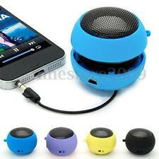 Rechargeable 3.5mm Jack Hamburger HiFi Mini Speaker For iphone Sumsung PC Tablet