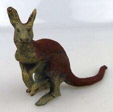 altes Lineol Tier: Känguru (linol147)