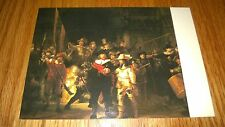 "Vintage  Postcard ""The NIGHTWATCH"" REMBRAND.,Made in NETHERLANDS"