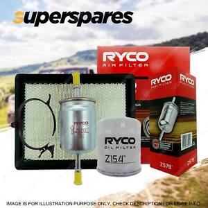 Ryco Oil Air Fuel Filter Service Kit for Holden Statesman WH L67 WK 99-04