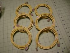 6ft 24AWG UTP CAT.5E Patch Ethernet Network Cable LOT OF 6  JM