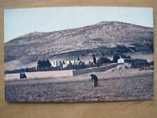 VINTAGE WWII POSTCARD CONVENT OF JACOB'S WELL AND MT GERIZIM ISRAEL 1945