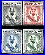 BAHRAIN 1960 SHEIK SULMAN BIN HAMAD AL KHALIFAH SC# 126-129  VF MNH