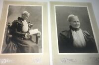 Rare Antique Victorian American Beautiful Old Woman New York Cabinet Photo Lot!