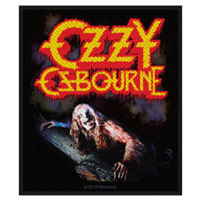 OZZY OSBOURNE - BARK AT THE MOON - WOVEN SEW ON PATCH - U.K. BASED SELLER