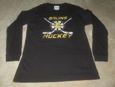Boston Bruins Original Retro Brand Longsleeve T-shirt Men's XXL Black NHL Hockey