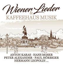 CD Wiener Lieder & Kaffeehaus Musik von Various Artists 3CDs