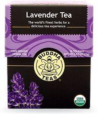 Lavender Tea, Buddha Teas, 18 tea bag 1 pack