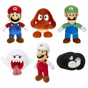 World of Nintendo Super Mario 6 inch Plush *CHOOSE YOUR FAVOURITE*
