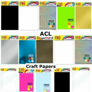 A4 A5, A3 Sheets Art Craft Scrapbook, Craft paper, Good quality, various colours