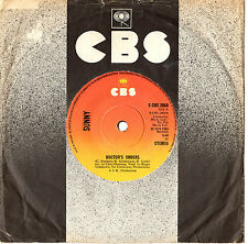 """SUNNY - DOCTOR'S ORDERS/IT'S ONLY WHEN YOU'RE FEELING LONELY - 7"""" 45 RECORD 1974"""