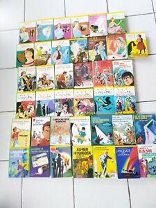 Gros lot 39 livres Bibliothèque verte Alice,Langelot,Chris Cool , Ebly, Les 6...