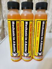 3-Pack Mechanic In A Bottle Fuel Gas Treatment Fix Ethanol Problems 2 & 4 Cycle
