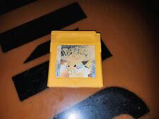 ## Pokemon Amarillo Edición Para GB Classic / Gameboy (Funda Algo Blanqueado) ##