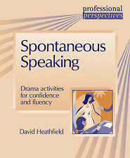 Spontaneous Speaking (Professional Perspectives), Very Good Condition Book, Heat