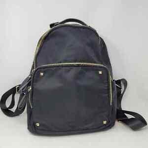 MMS design Studio Black shiny backpack EUC