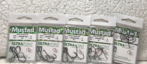 (5 packs) Mustad Size 2/0 Select Finesse DS 6/Pack All New H8B