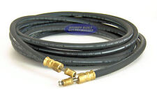 Boat Trailer Hydraulic Rubber Brake Hose Line DOT 18' Flexible With Swivel Heads