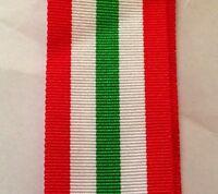 "Italy Star Full Size Medal Ribbon, Army, Navy, RAF, Military, 10"", WW2, War"
