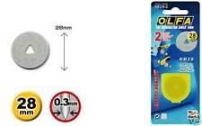 Olfa 28 mm cortador rotatorio Repuesto para (2pk)
