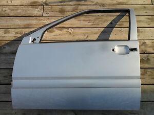Volvo V70R S70 V70 Front Left Driver Door Shell 419 Pewter Silver OEM