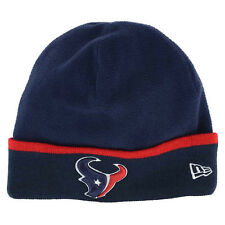 buy online f434c 1c806 Houston Texans New Era 2014 On-Field Sideline Cuffed Fleece Tech Knit  Beanie Cap
