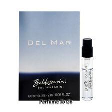 Del Mar Baldessarini for Men by Hugo Boss * NEW Fragrance Vial Sample EDC Splash