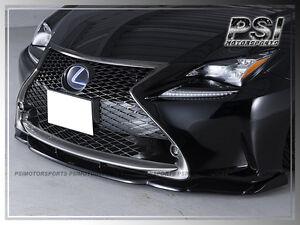 AG Type Carbon Fiber Front Lip For 2015-2018 LEXUS RC200t RC350 F Sport Only