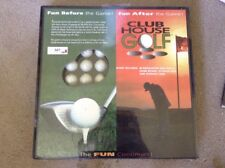 New Sealed Club House Golf Game Includes 36 Regulation Golf Balls