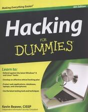 Hacking For Dummies  Beaver, Kevin  Acceptable  Book  0 Paperback