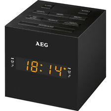 AEG MRC 4150 - Radio Despertador USB carga de móvil (AM / FM / USB / AUX-IN)