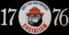 Wholesale Lot of 6 Only You Can Prevent Socialism 1776 Decal Bumper Sticker