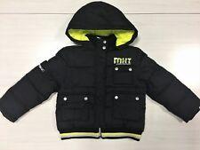 Mirtillo Italy Hooded Winter bomber Jacket Coat Giacca Girl Siz 6 black