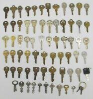 Vtg Lot of 71 Keys Corbin National Lock Co Dexter Star Russwin Crafting
