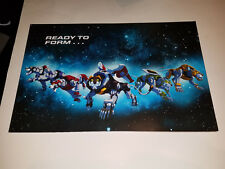 Voltron Legendary Defender 11 x 17 Exclusive Poster Nycc