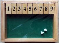 Learning Resources Shut the Box Addition and Subtraction Game  X53125