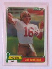 2012 Topps 1981 #216 Rookie Card RC REPRINT Joe Montana 49ERS