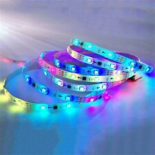 WS2811 RGB LED Strip Light Addressable Digital Tube DC12V 30LED/M White/Black LE