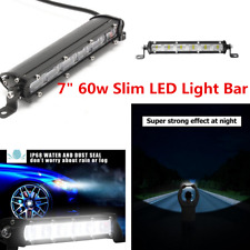 60W CREE LED Work Light Bar Universal Car Truck Flood Beam Driving Lamps 12V