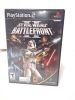 Star Wars: Battlefront II (PlayStation 2, 2005) CIB Tested Fast Shipping