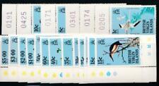 VIRGIN ISLANDS 490-508 MINT NH BIRDS