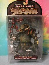 EXTREMELY RARE MISS-CARDED SPAWN Dark Ages ORGE on HORRID CARD MUST SEE!!!