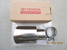 08 - 13 TOYOTA HIGHLANDER SE LIMITED STAINLESS STEEL EXHAUST TIP BRAND NEW 48090