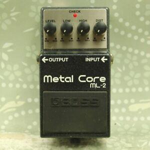 BOSS ML-2 Metal Core Distortion Guitar Effect Pedal AW09200